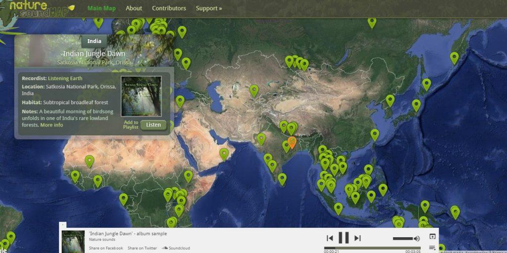 naturesoundmap.com