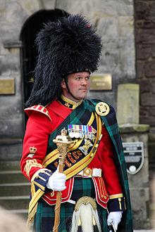 سرباز اسکاتلندی